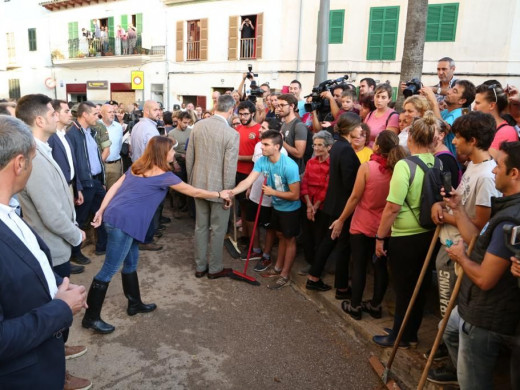 Los Reyes visitan Sant Llorenç des Cardassar