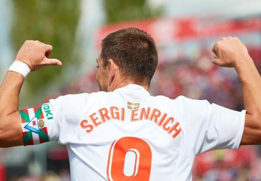 (Fotos) Sergi Enrich da el triunfo al Eibar en Girona
