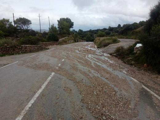 """(Galería de fotos) Los efectos del temporal y el """"cap de fibló"""" en La Argentina"""