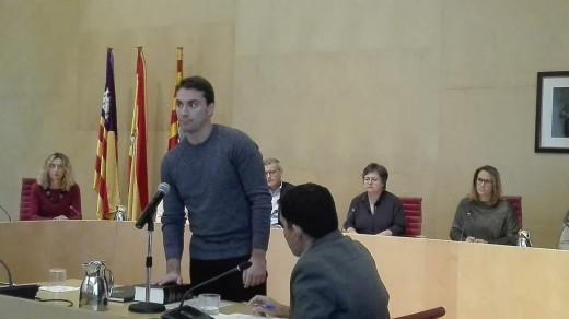 El nuevo conseller de Podemos ha tomado posesión de su cargo esta mañana
