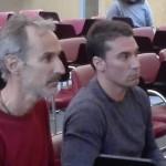 El exconseller Javier Ares ha acompañado al nuevo conseller en su toma de posesión del cargo
