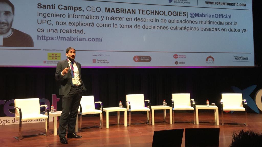 Santi Camps, un menorquín innovando el sector turístico (Foto Mabrian)