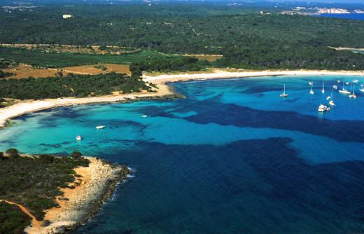 Playa de Son Saura, en Ciutadella (Foto: Tolo Mercadal)
