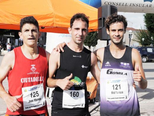 (Fotos) A la carrera en Sant Lluís