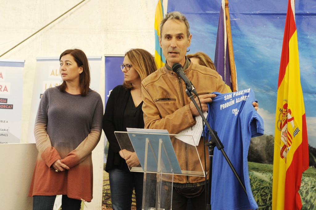 Javier Ares, en la Fira del Camp d'Alaior.