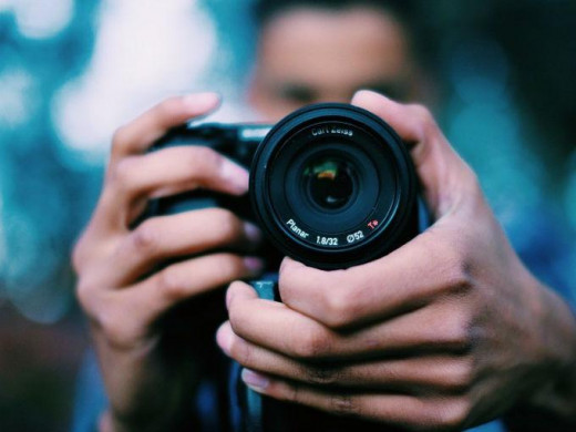Imagen de un fotógrafo.