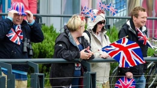 Turistas británicos.