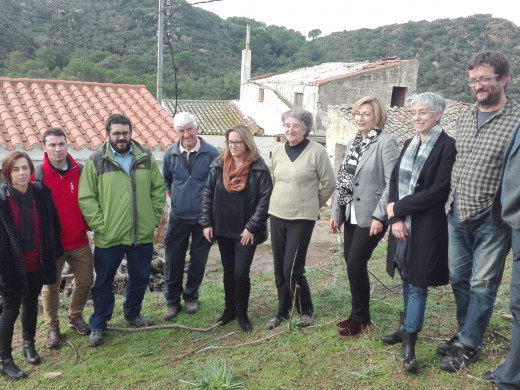 (Galería de fotos) El Govern evalúa los efectos del último temporal en Menorca