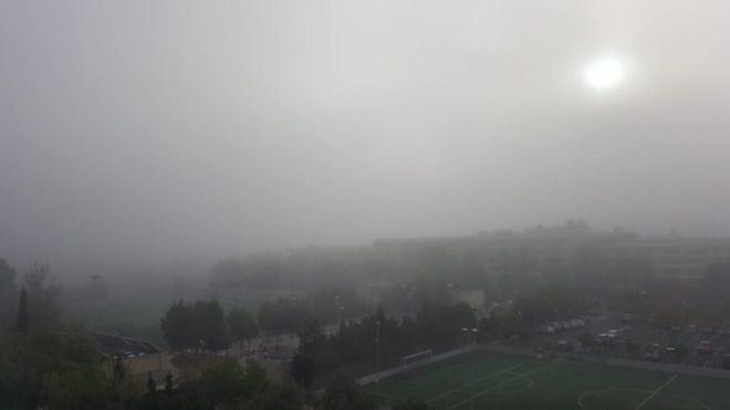 Imagen de la niebla en Mallorca (Foto: mallorcadiario.com)