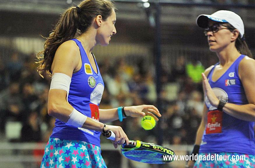 Gemma Triay, en un momento del torneo (Foto: World Padel Tour)