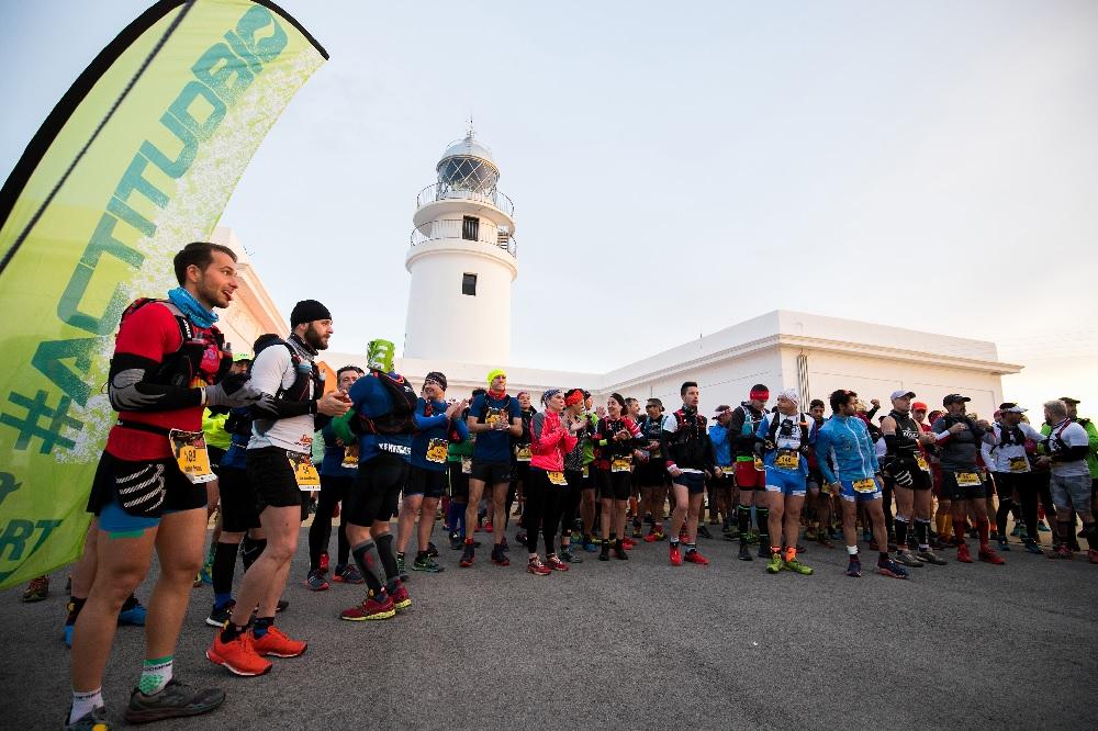 Imagen del Trail dels Fars que se celebra cada año en Menorca