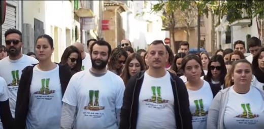 Imagen del vídeo en agradecimiento al trabajo de los voluntarios