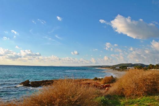 Nubes y viento pero lucirá el sol en Menorca buena parte de la semana
