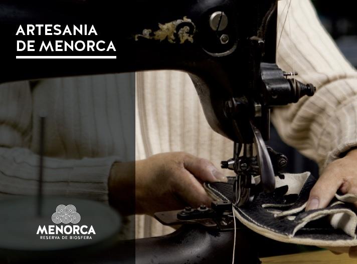 Portada de libro sobre artesanía editado por la Agencia Menorca Reserva de Biosfera