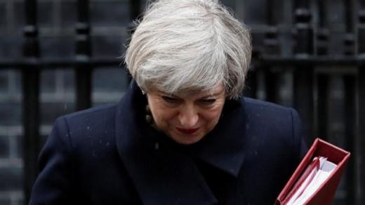 La Primera Ministra británica, Theresa May (Foto: Mallorcadiario)