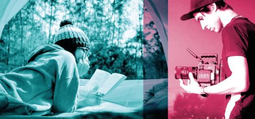 El booktrailer es un pequeño vídeo que, con música e imágenes, intenta captar la atención de los lectores