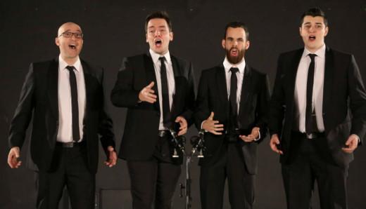 Imagen del cuarteto.