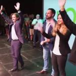 Pedro Campos evita confusiones con su electorado.