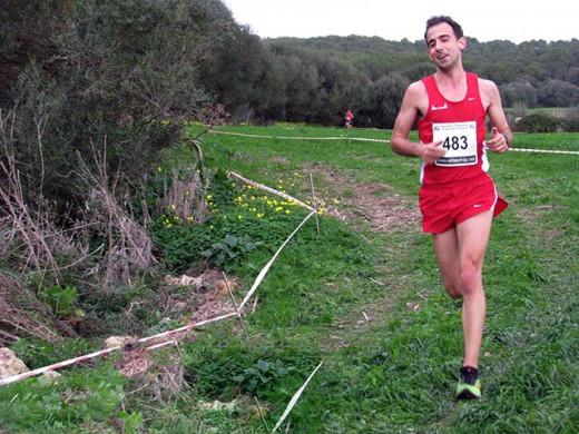 Rafel Quintana, en plena carrera (Foto: deportesmenorca.com)