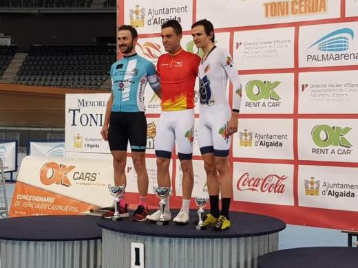 (Galería de fotos) Albert Torres, oro en Omnium en el campeonato de España