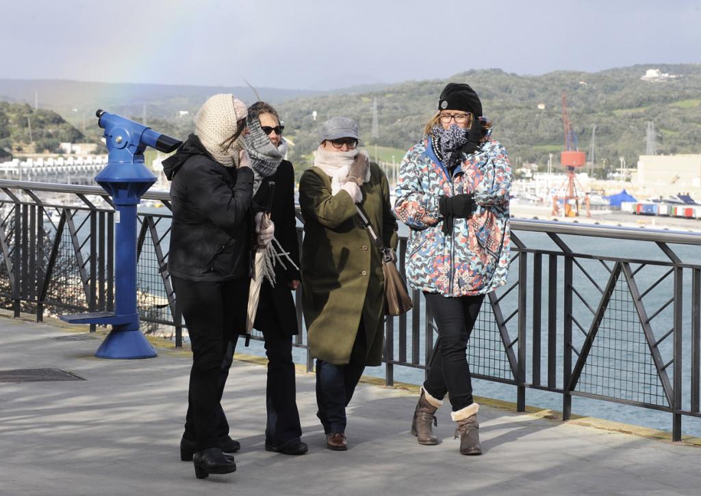 Frío y viento en la Isla (Foto: Tolo Mercadal)