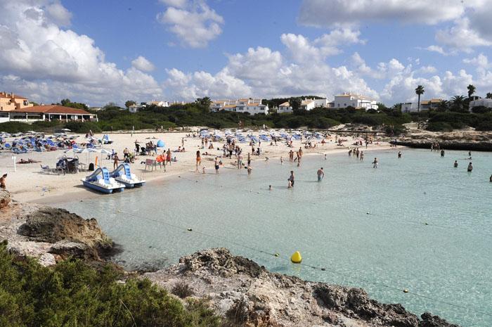 Playas de Menorca Cala en Bosch y Son Xoriguer