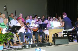 La música fue una de las protagonista destacadas del pregón.