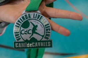 """Imagen de una de las medallas de """"finisher"""" de la edición de 2014."""