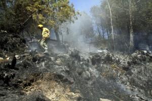 El acusado provocó cuatro incendios en Menorca.