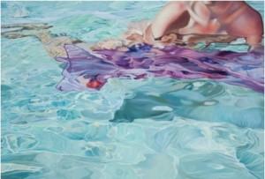 Detalle de una de las obras de Moncada.