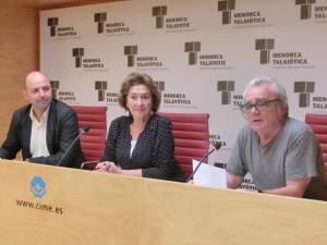 Jaume Gomila, Maruja Baíllo y PItus Fernández.