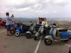 Las Vespas, en Monte Toro.