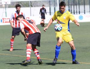 Acción del Montuïri-Mercadal (Foto: futbolbalear.es)