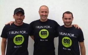 Raúl Riudavets, Josep Garriga y Dani Coll, promotores de la iniciativa.