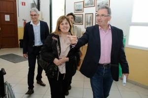 Joana Maria Camps, en una de sus últimas visitas a Menorca (Foto: Tolo Mercadal)