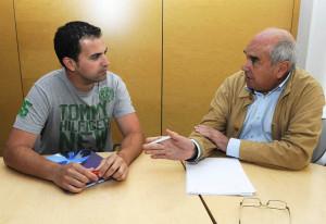 Josep Piris y Luis Alejandre.