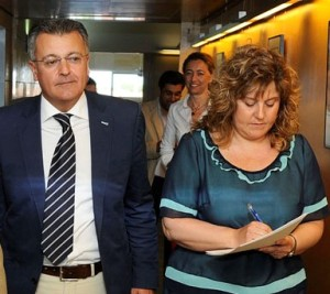 Santiago Tadeo y Joana Maria Camps.
