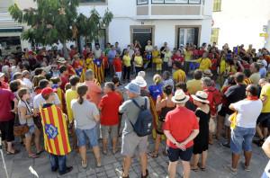 El 9-N también cuenta con partidarios en Menorca.