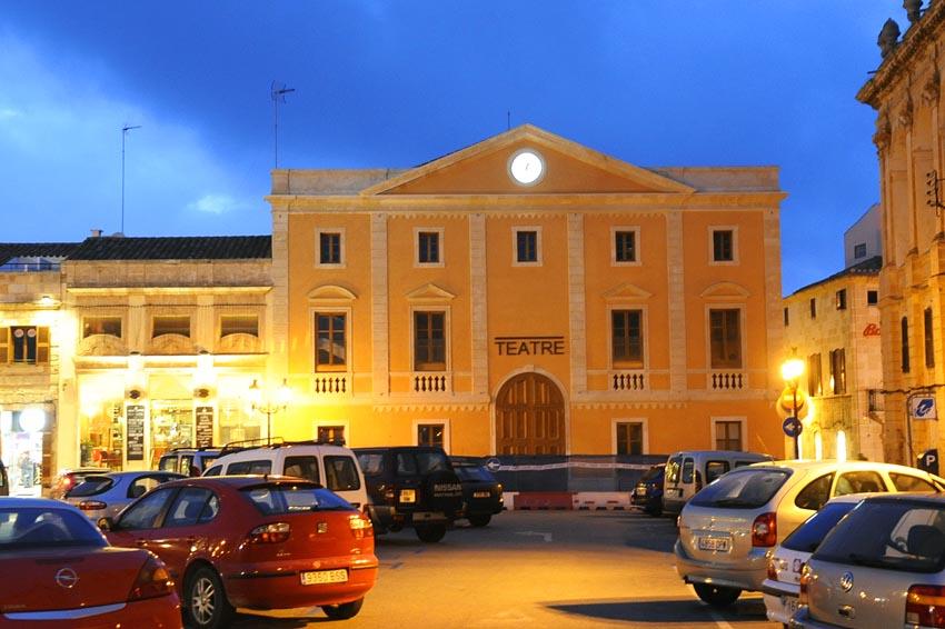 Teatro del Born, en Ciutadella