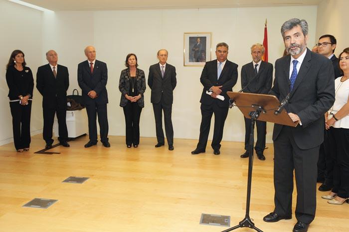 carlos lesmes presidente del tribunal supremo y del cgpj preside la apertura del a–o judicial