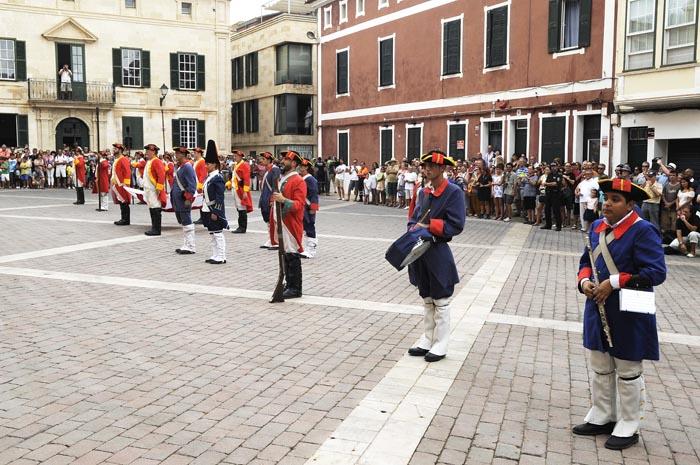 desfile militar feria britanica