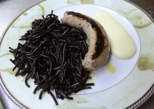mostra cuina menorquina restaurante la marina botifarra de sipia