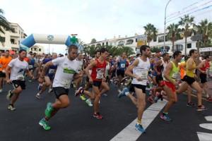 Momento de la carrera masculina (Fotos: www.deportesmenorca.com)
