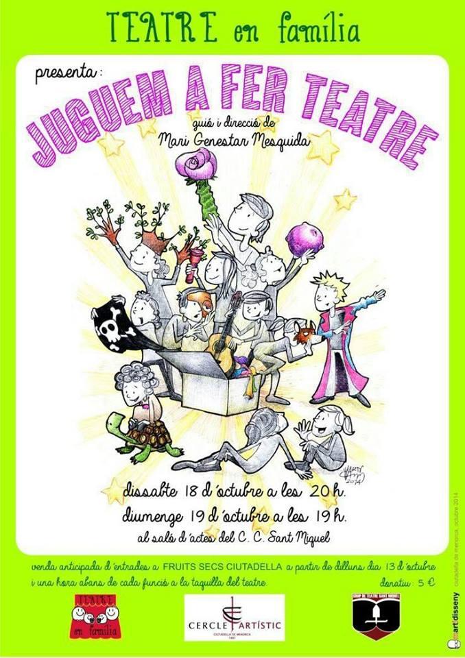 cartel teatro infantil