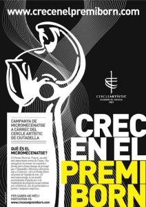 La entidad cultural pretende mantener vivo el Premi Born de Teatre.
