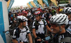 Momento de la salida de la tercera etapa (Reportaje gráfico: Kike Cardona y Niní Marquès)