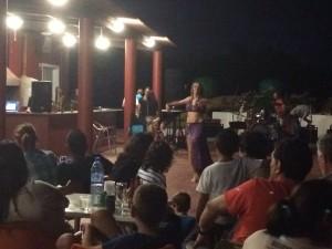 El colectivo organizó una fiesta benéfica este sábado en el Aeroclub.
