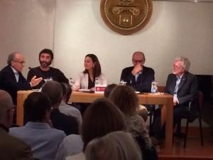 Moderado por Carlos Sintes, tomaron parte Miquel Camps, Marta Vidal, Íñigo Orbaneja y José Antonio Fayas.