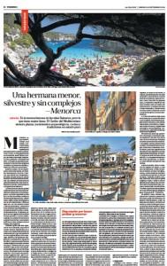 """Reproducción del reportaje publicado por """"La Nación""""."""