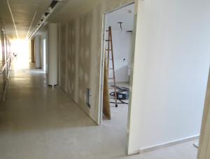 Algunas consultas de la planta baja se trasladarán a la primera planta.